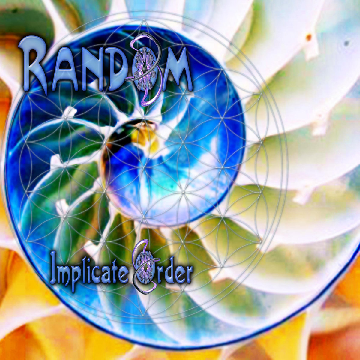 Random feat. Robot - 13 Again remix @ 'The Implicate Order' album (electronic, goa)