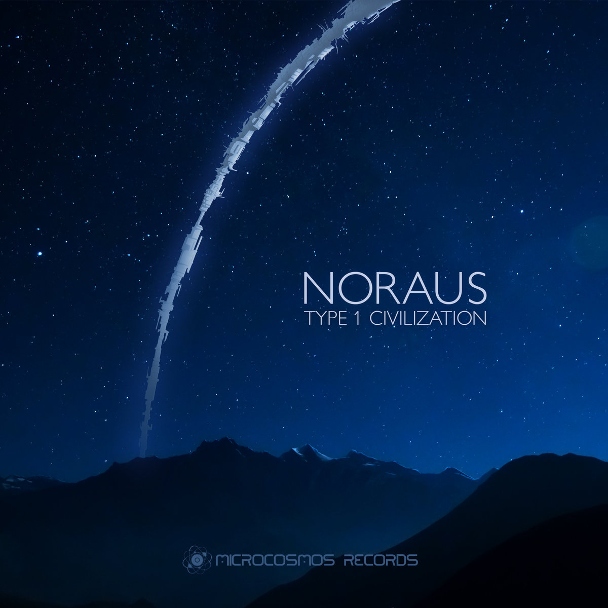 Noraus - The Incredible Adventures Of A Microbe A @ 'Type 1 Civilization' album (ambient, chill-out)