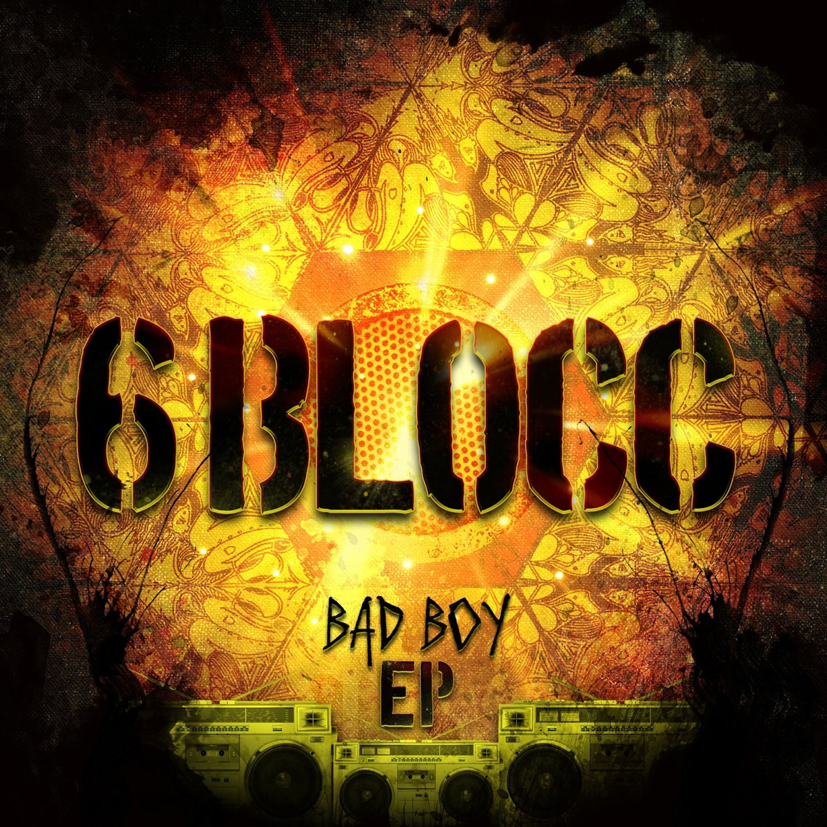 6Blocc - Bad Boy (Blackheart Remix) @ 'Bad Boy' album (electronic, dubstep)