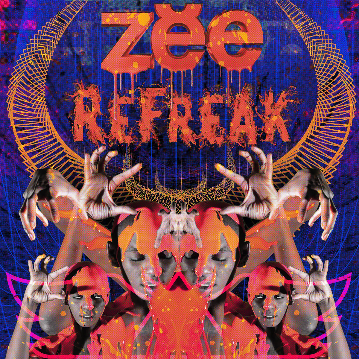 Zebbler Encanti Experience - Freakquency (Space Jesus Remix) @ 'ReFreak' album (electronic, bass)
