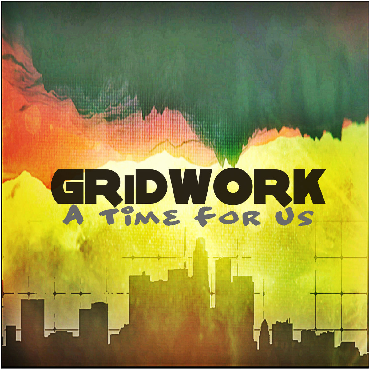GRiDWORK - Down The Line @ 'A Time For Us' album (bass, chill)