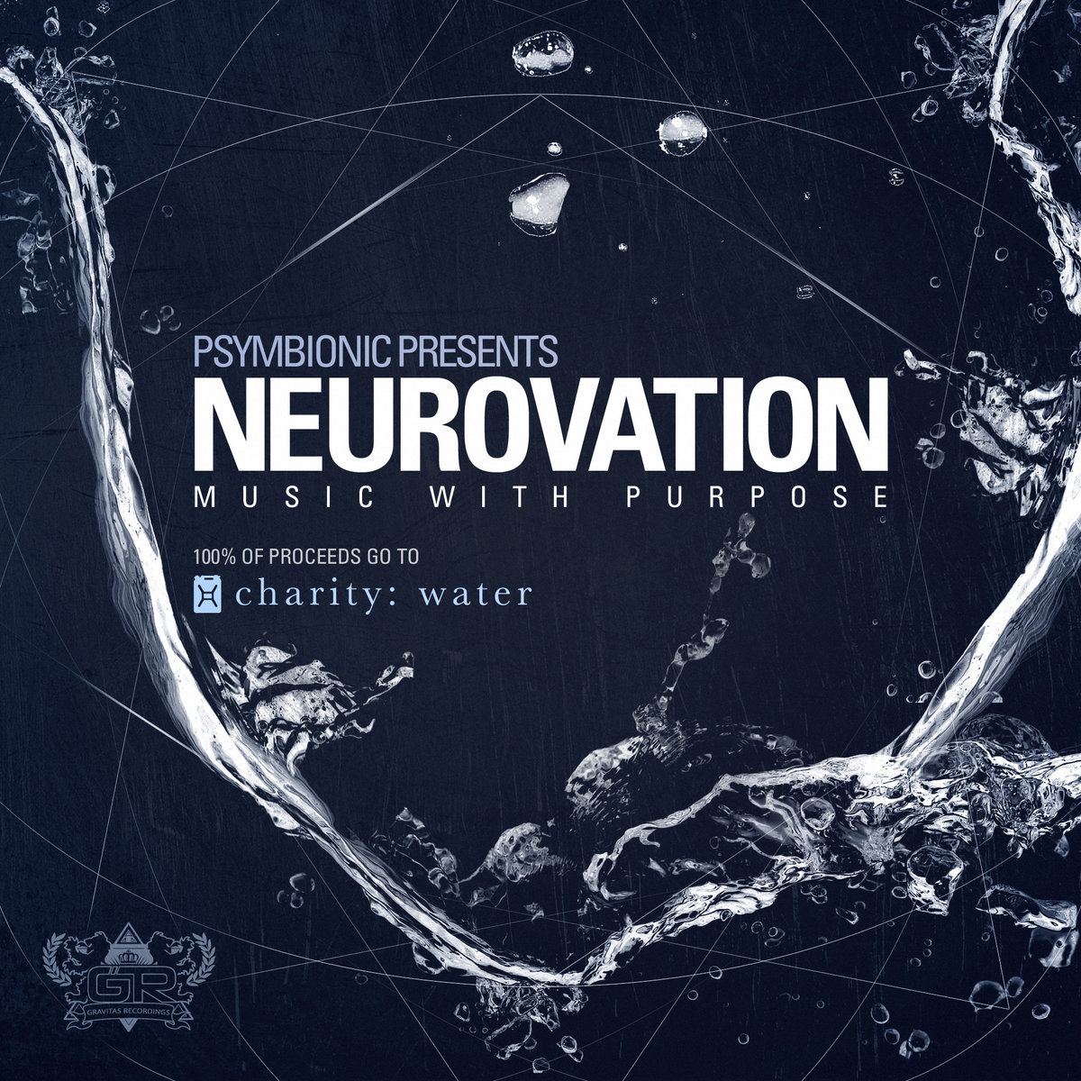 Knight Riderz - Love is Blind @ 'Psymbionic Presents: Neurovation' album (cryptex, glitch hop)