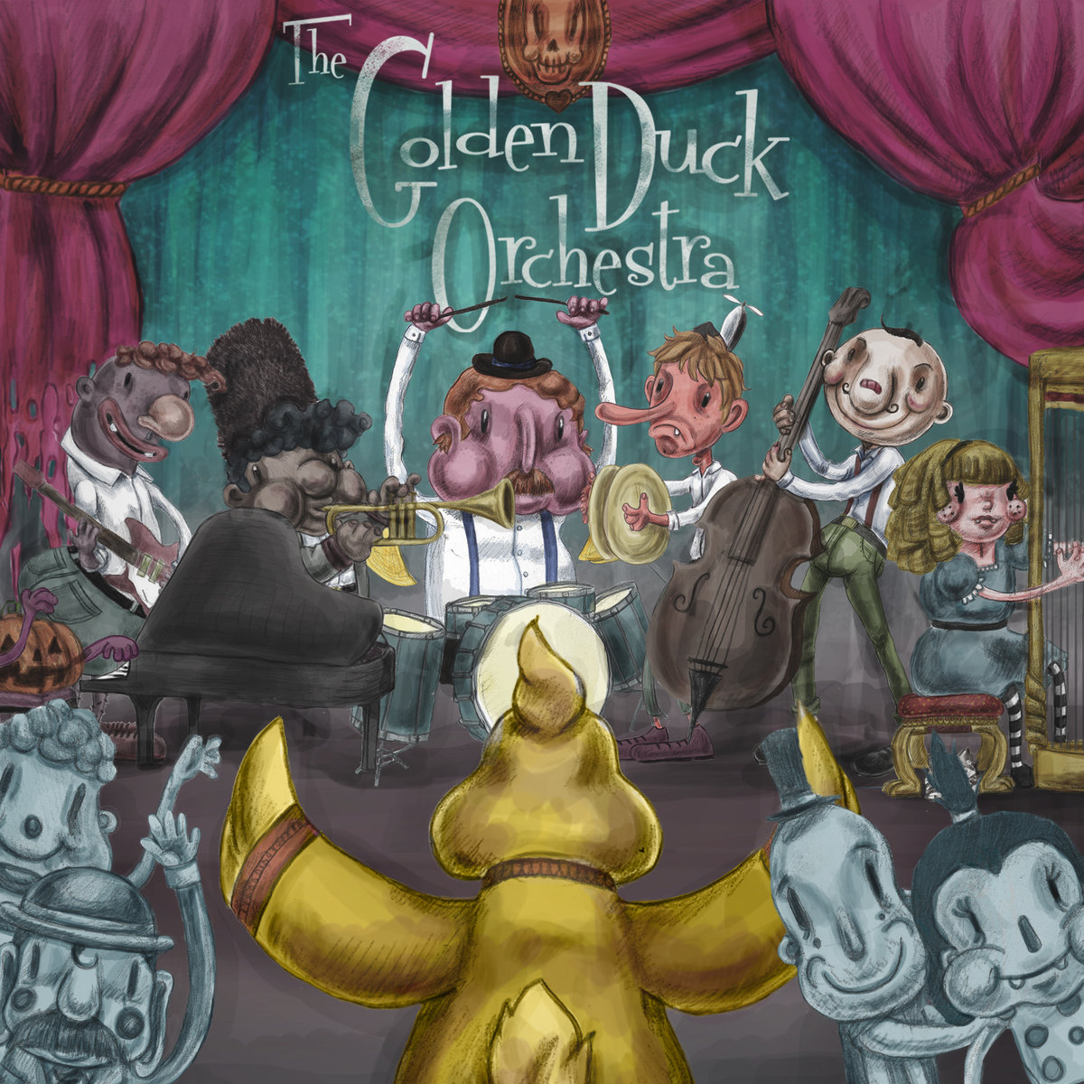 Golden Duck Orchestra - Alien @ 'Golden Duck Orchestra' album (alternative, brazilian music)