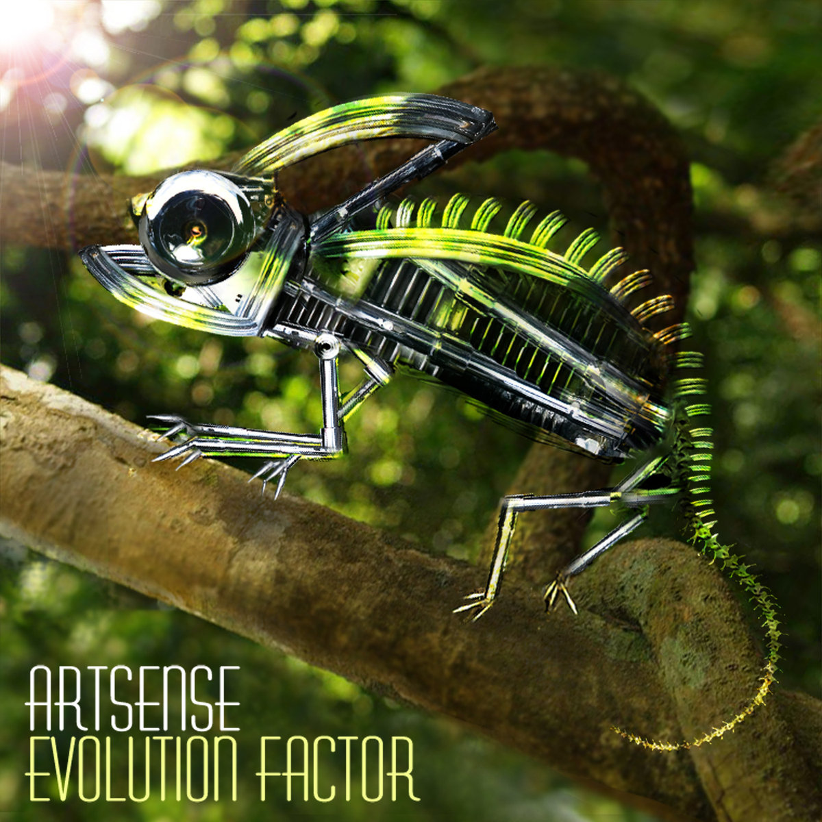 Artsense - Kickin' Hard @ 'Evolution Factor' album (electronic, goa)