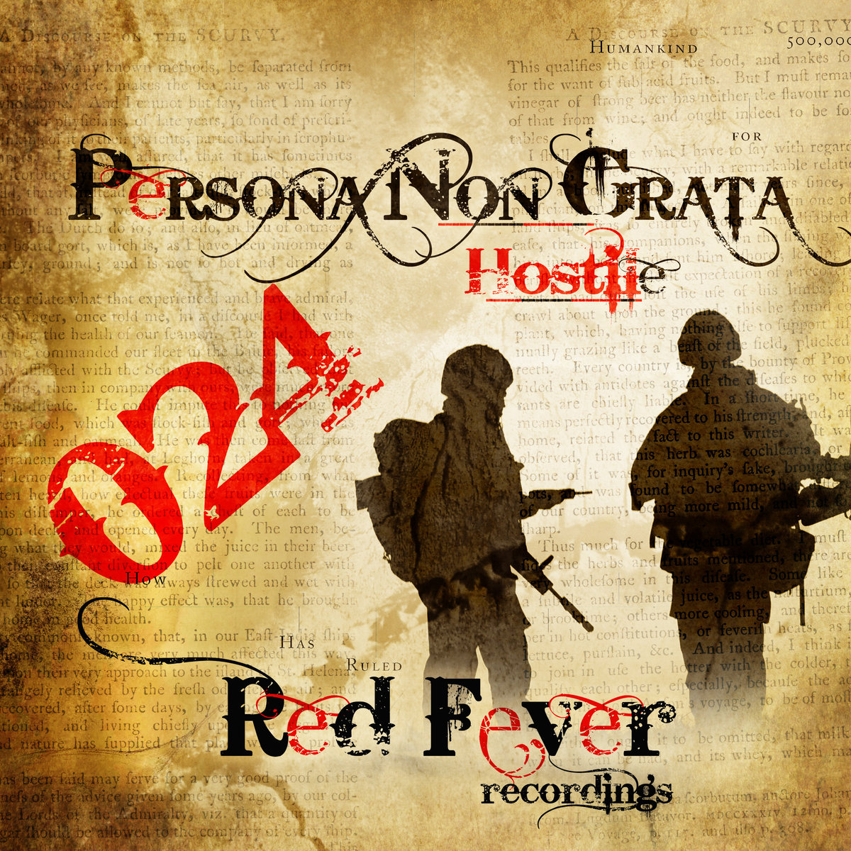 Persona Non Grata - The Bad Inside Us @ 'Hostile' album (electronic, gabber)