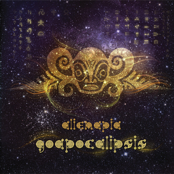 Alienapia - Distinctive Perception @ 'Goapocalipsis' album (ambient, electronic)