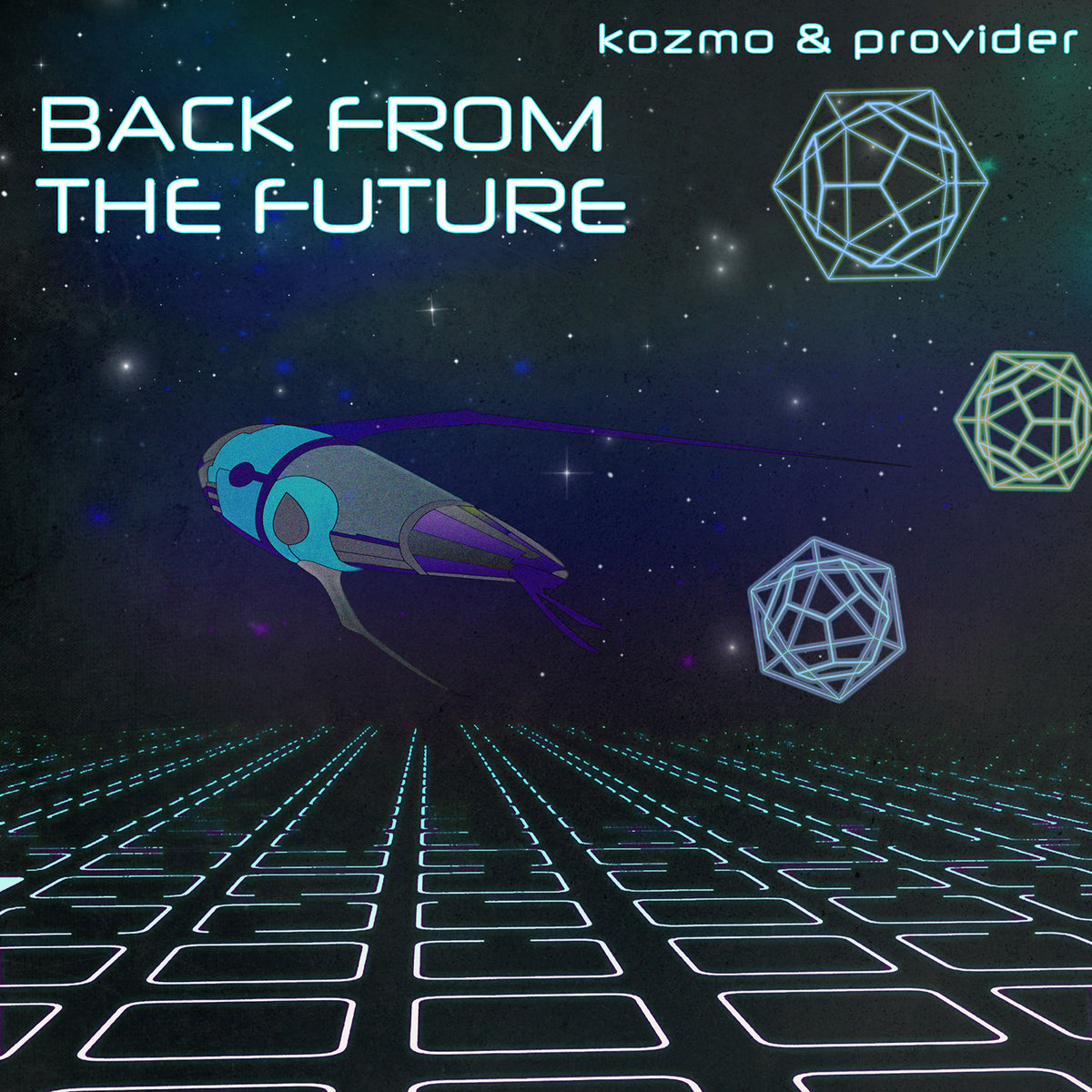 KOZMO & Provider - Eris (BOATS Remix) @ 'Back From the Future' album (electronic, dubstep)