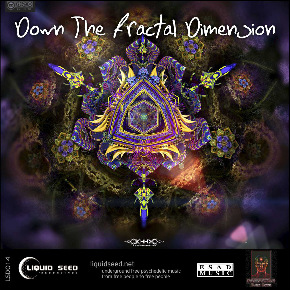 J.P.illusion - Fade Out @ 'VA - Down The Fractal Dimension' album (alternative, chill out)