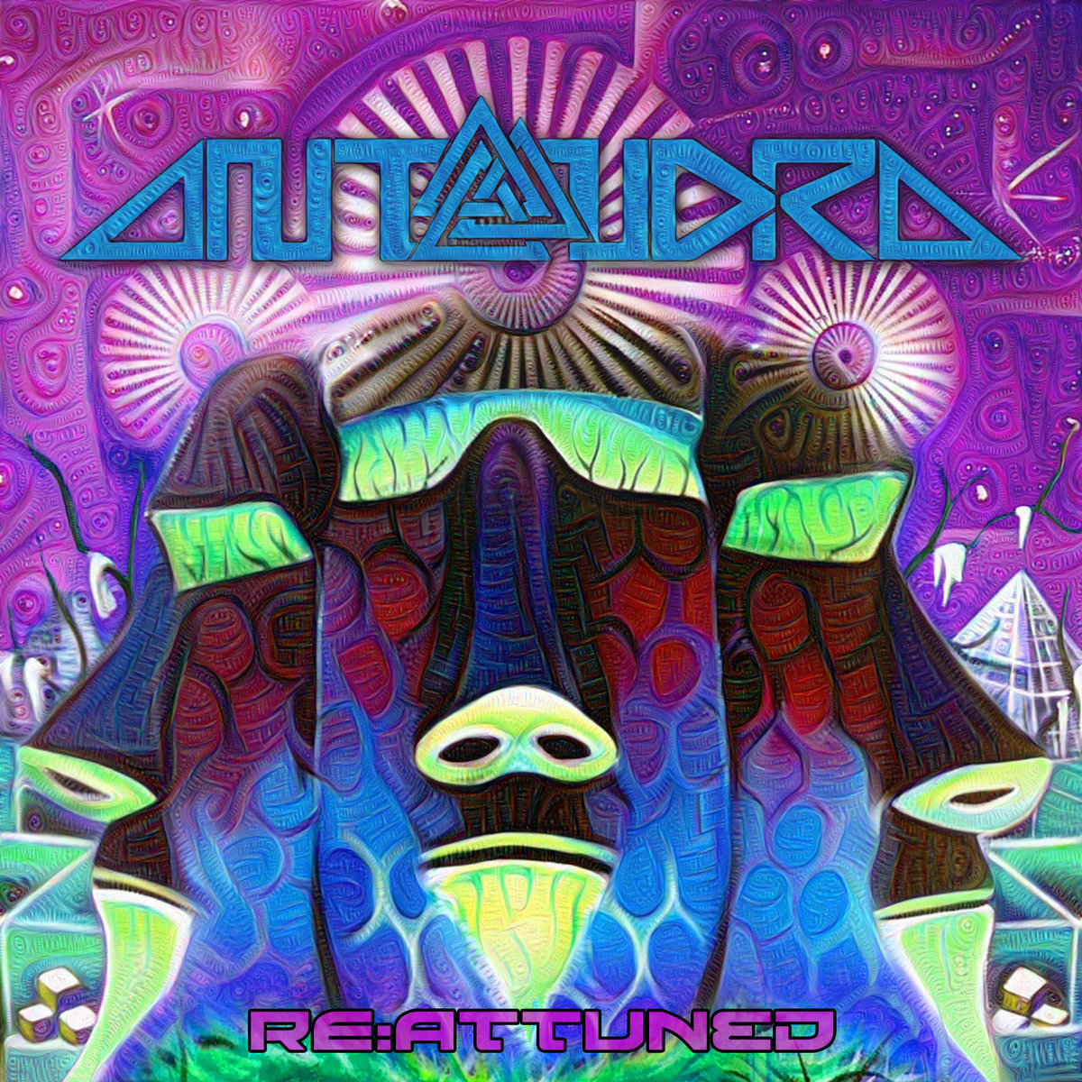 Antandra - Spectral Emission (White Robot Remix) @ 'RE:ATTUNED' album (ambient, downtempo)