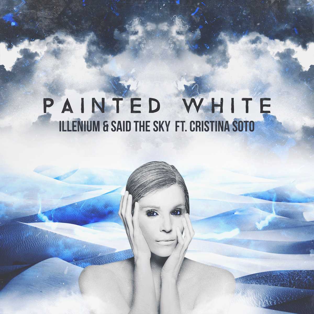 Illenium, Said The Sky, & Cristina Soto - Painted White (Clockvice Remix) @ 'Painted White' album (idm, bass)