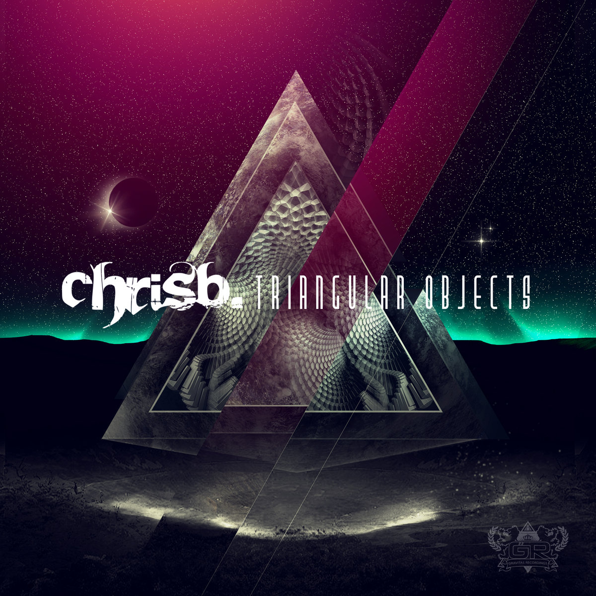 ChrisB. - Space Dust @ 'Triangular Objects' album (dubstep, electronic)