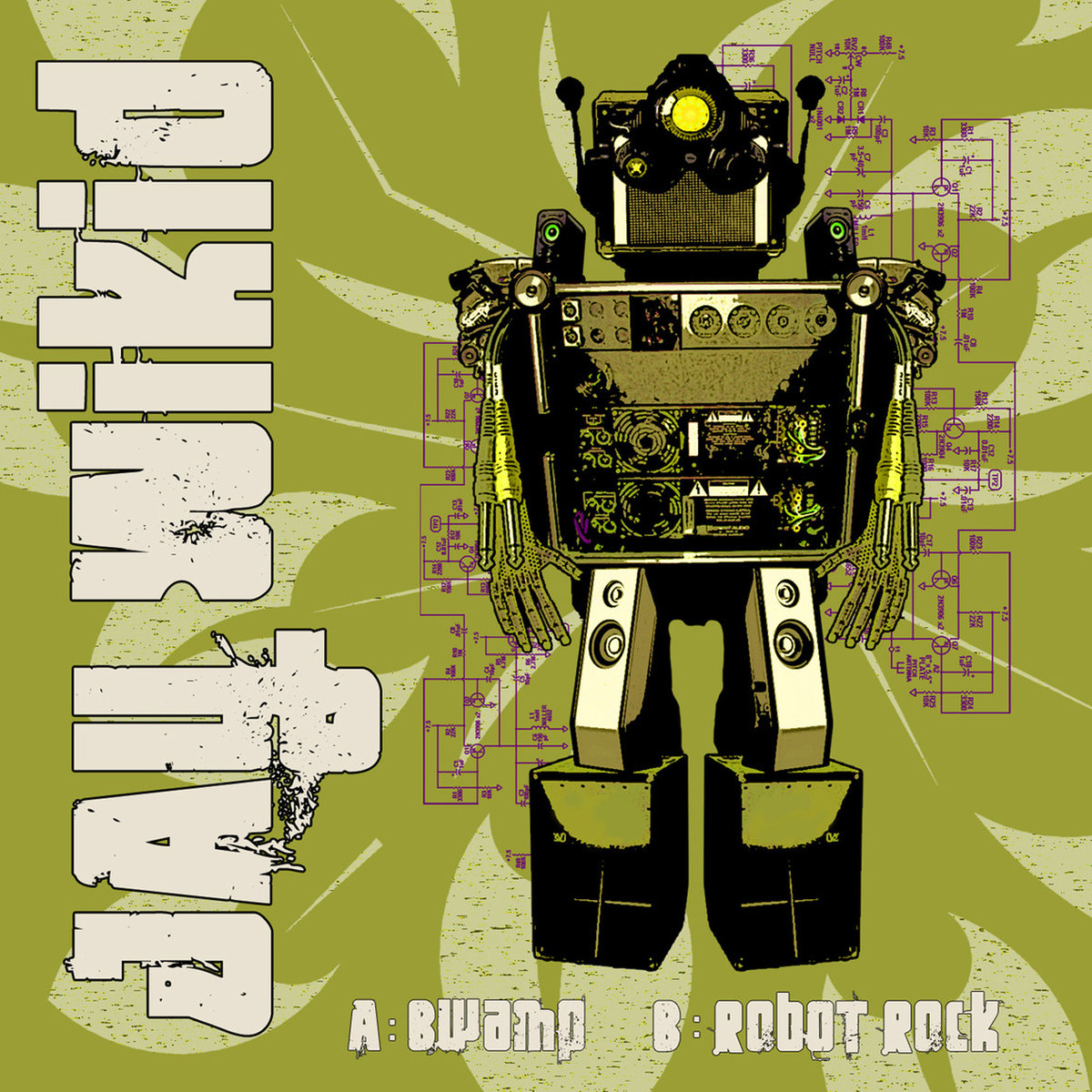 Jay Wikid - Bwamp @ 'Robot Rock' album (bass, breakbeat)