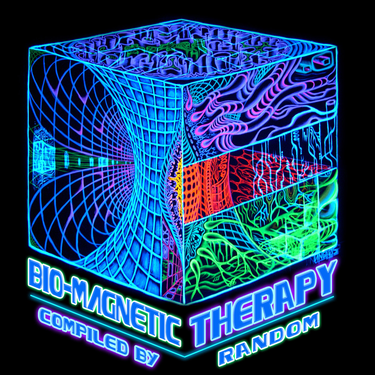 Random - The Problem @ 'Various Artists - Bio-Magnetic Therapy (Compiled by Random)' album (electronic, goa)