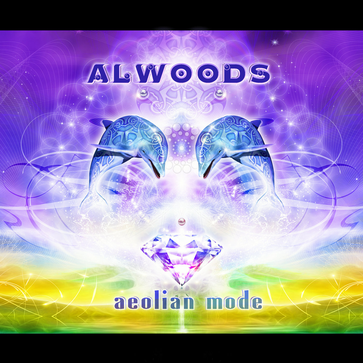 Alwoods - Low Red Moon @ 'Aeolian Mode' album (electronic, greece)