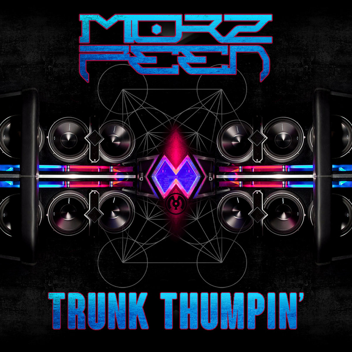 MorzFeen - TRON @ 'Trunk Thumpin'' album (electronic, dubstep)