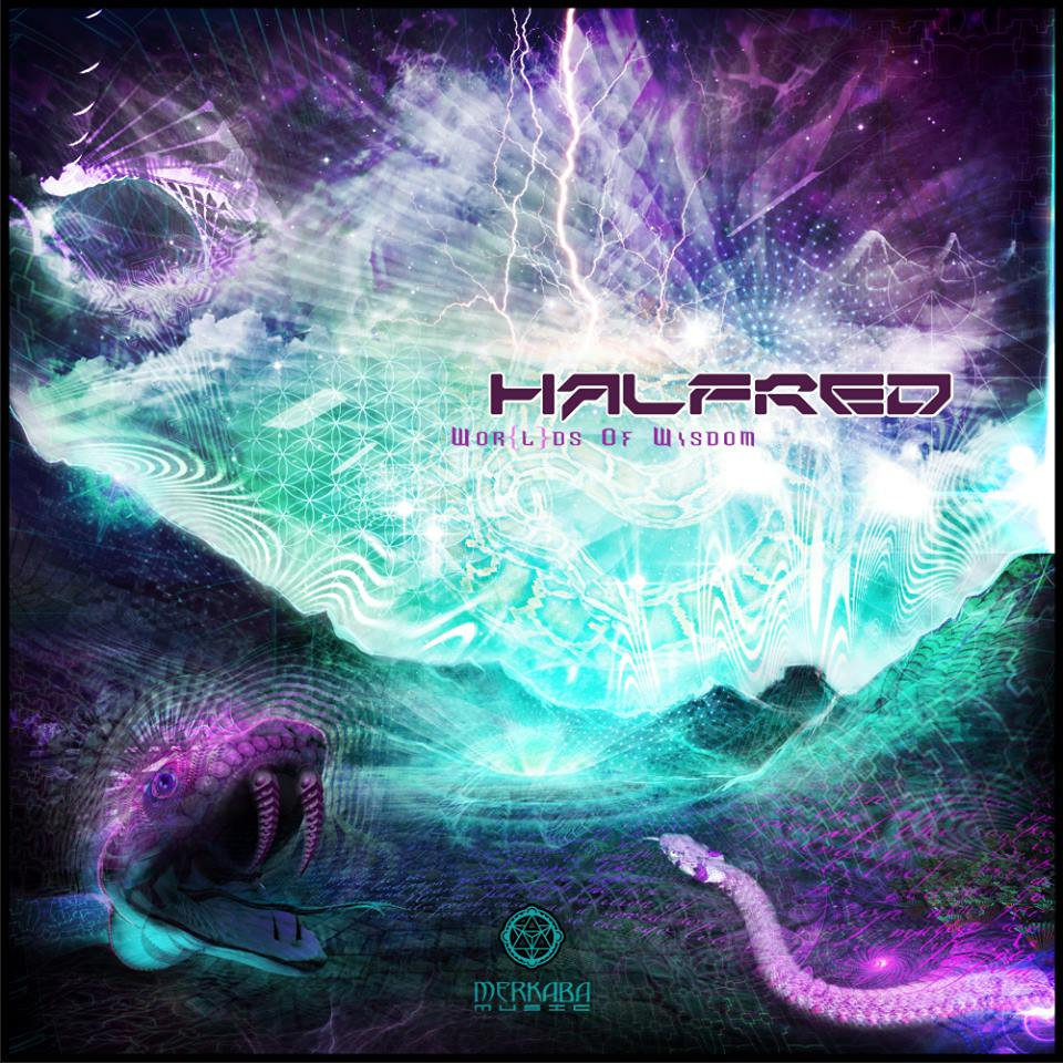 Halfred - Opening Portals @ 'Wor(l)ds of Wisdom EP' album (432hz, electronic)