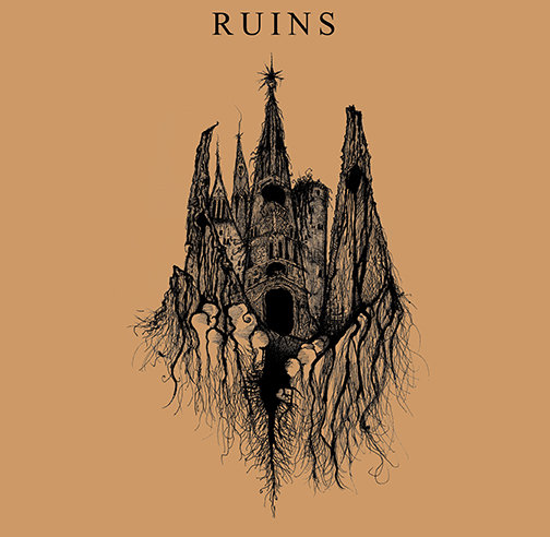 Ruins & Usnea - Split (artwork)