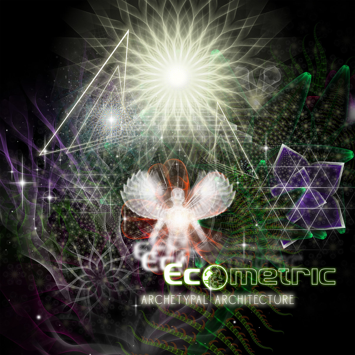 Ecometric - Blackberry (Kalya Scintilla's Burnt Caramel Remix) @ 'Archetypal Architecture' album (424hz, electronic)