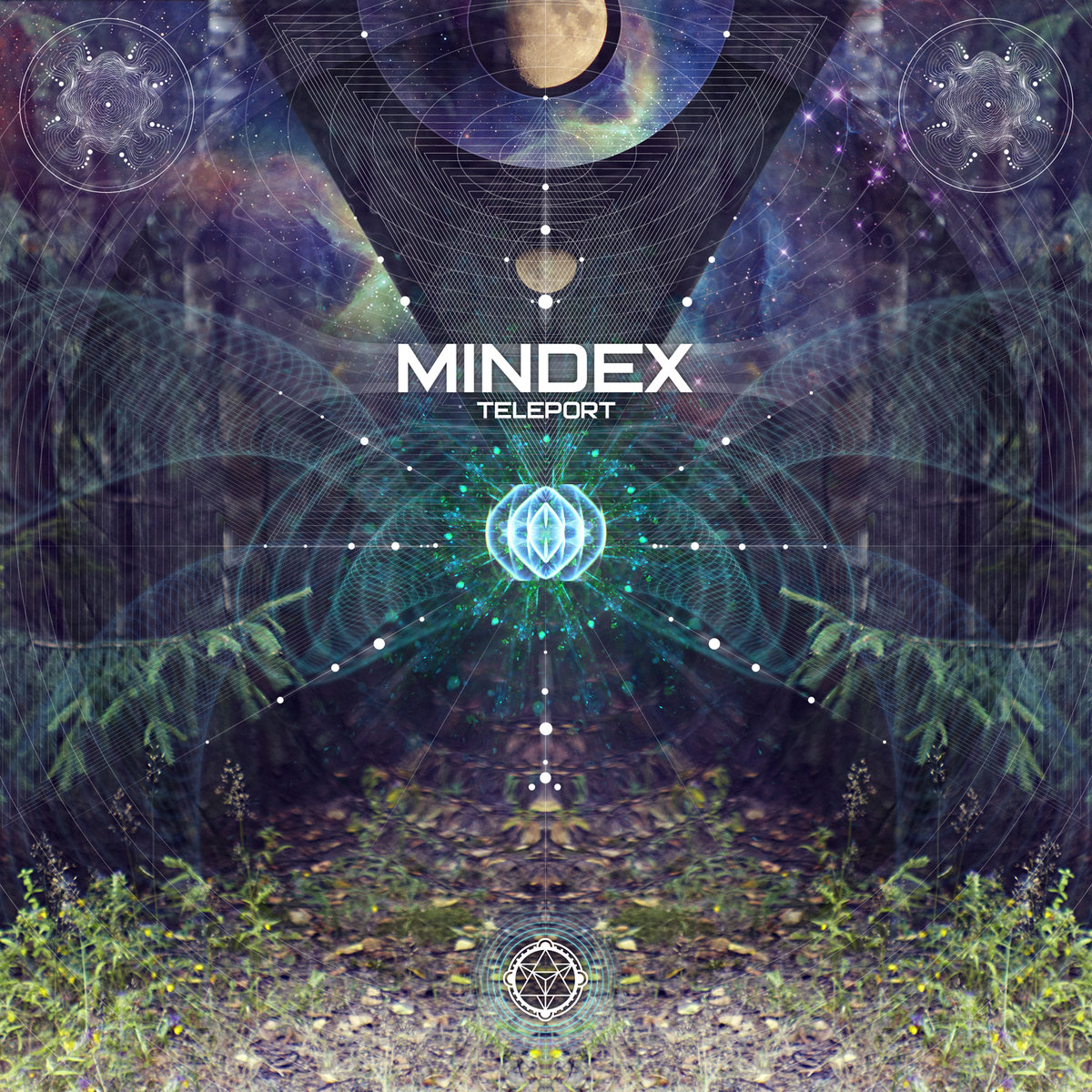Mindex - We Represent the Power @ 'Teleport EP' album (electronic, ambient)