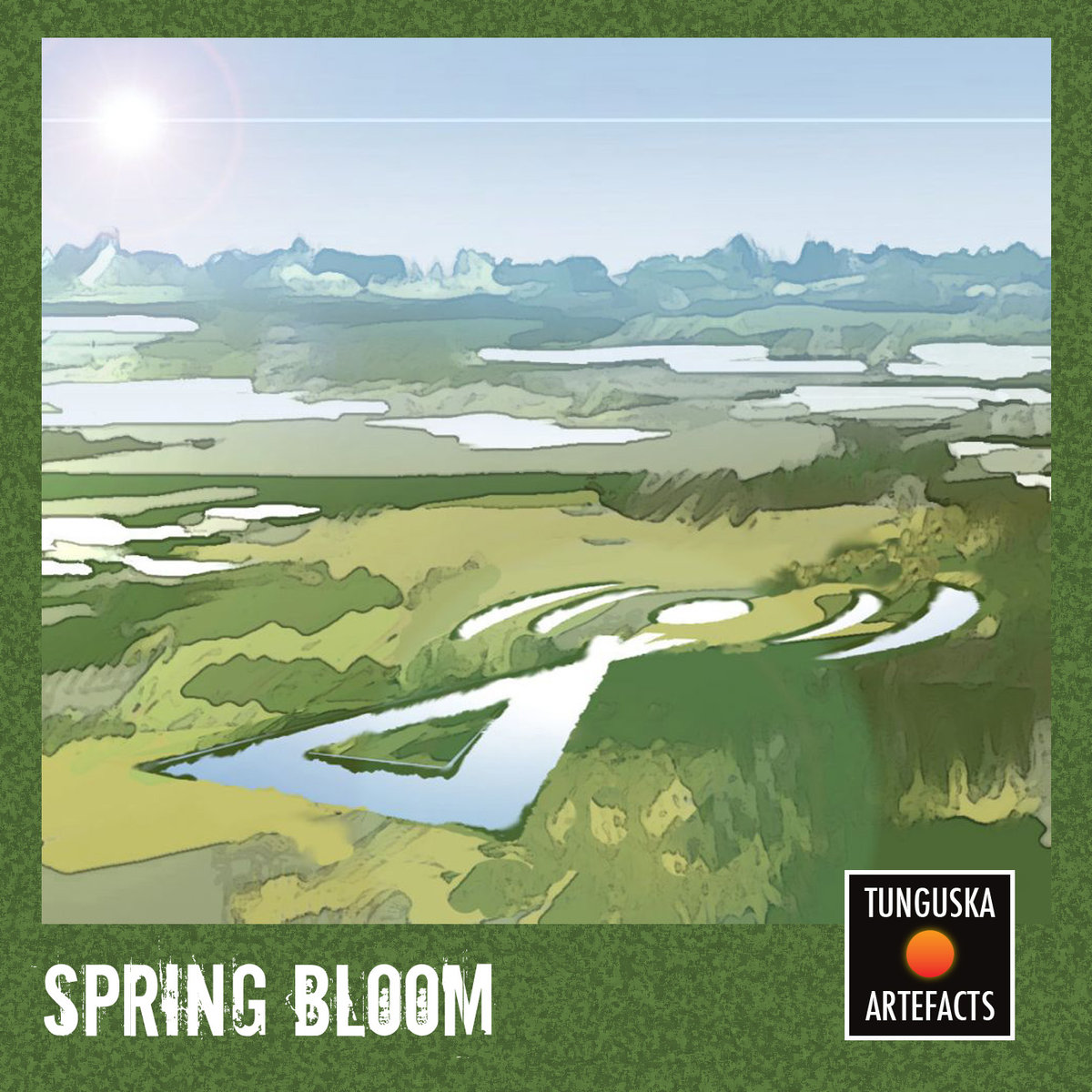 Steffl - Blossomness of Afterglow @ 'Tunguska Artefacts - Spring Bloom' album (electronic, ambient)