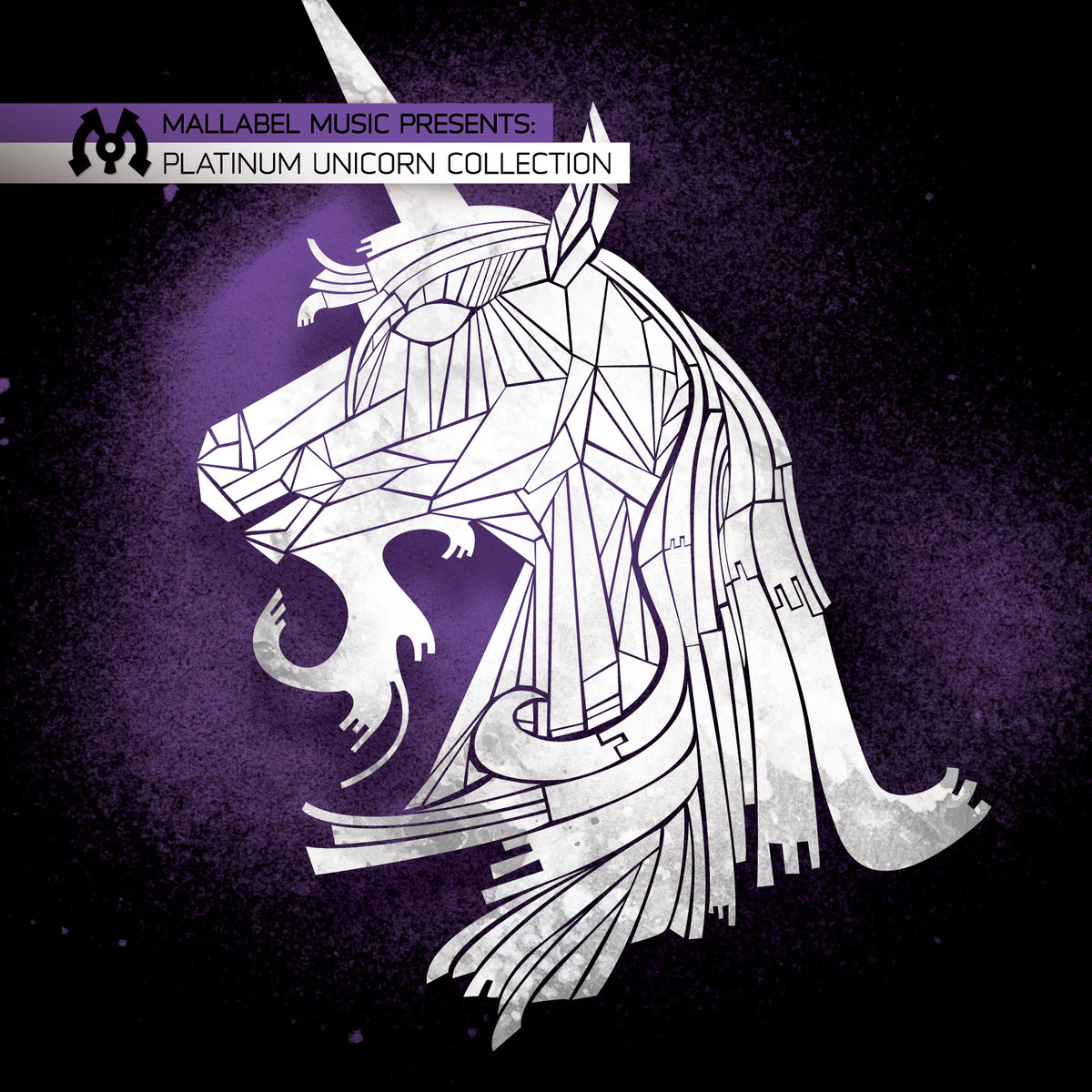 Dr. Knobz - Purple Gangstar (DZ Remix) @ 'Various Artists - Platinum Unicorn Collection' album (electronic, dubstep)