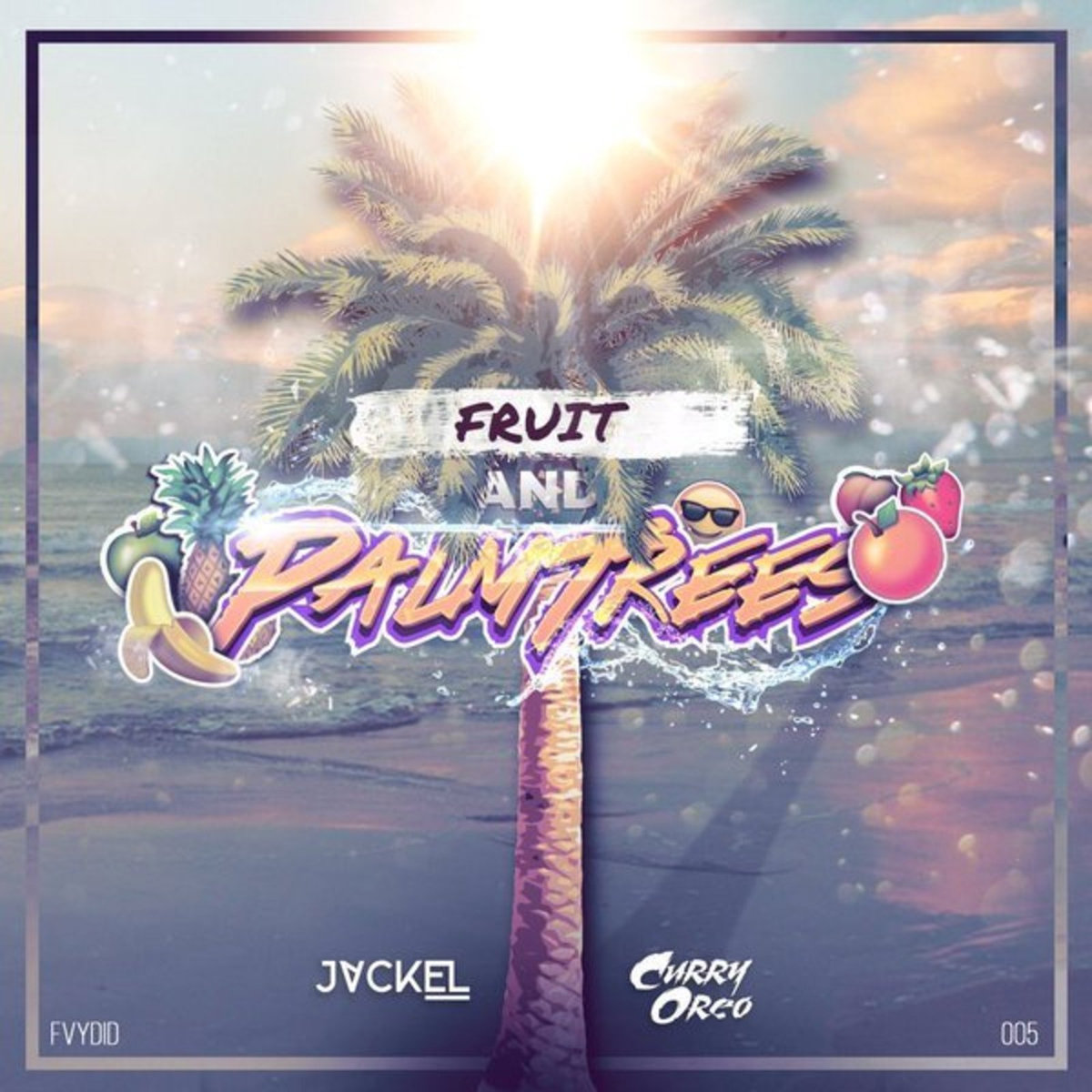 JackEL & Curry Oreo - Fruit and PalmTrees (artwork)