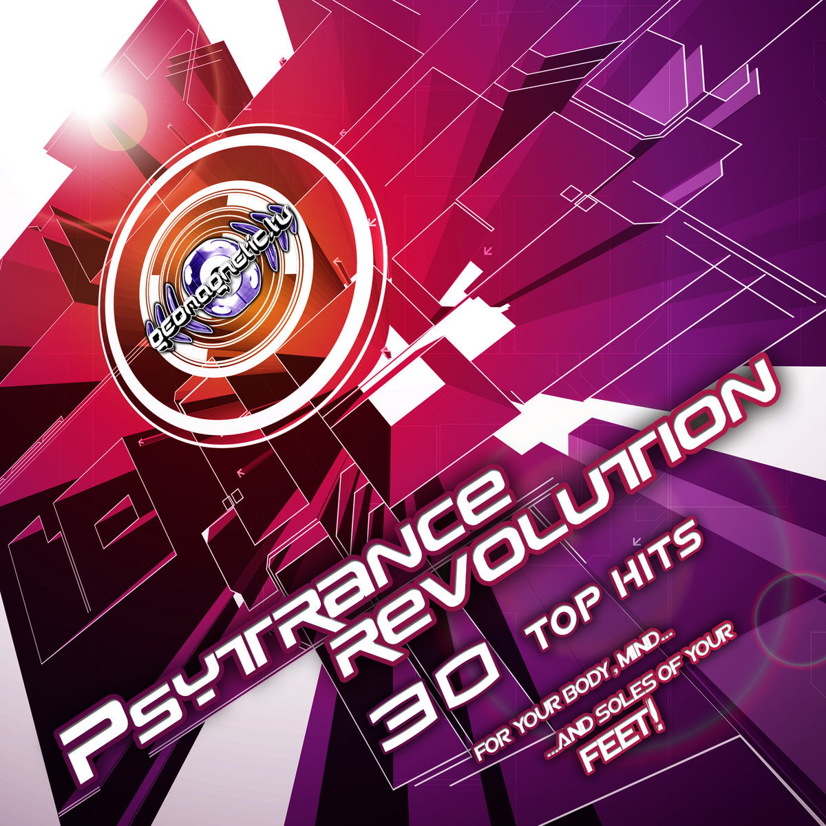 Biocycle - Golden Voltage @ 'Various Artists - Psytrance Revolution (30 Top Hits)' album (electronic, goa)