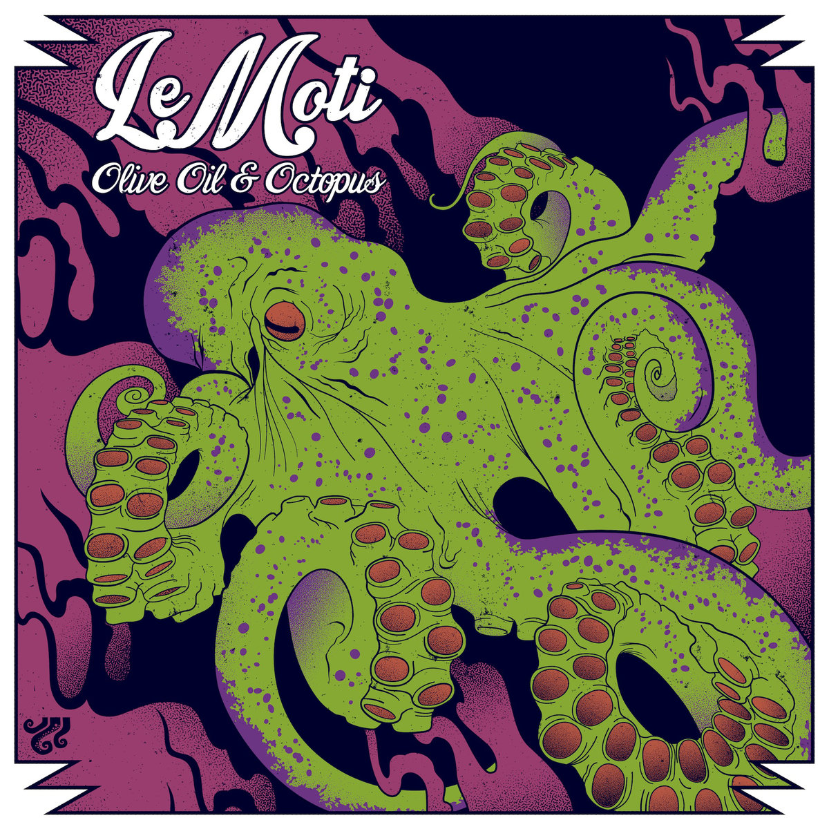 LeMoti - Shades of Blue @ 'Olive Oil & Octopus' album (Austin)