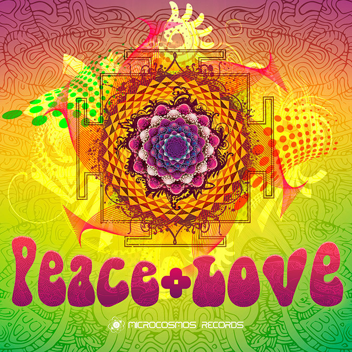 Mindex - New Life Form (Fractal Mix) @ 'Various Artists - Peace + Love' album (ambient, chill-out)