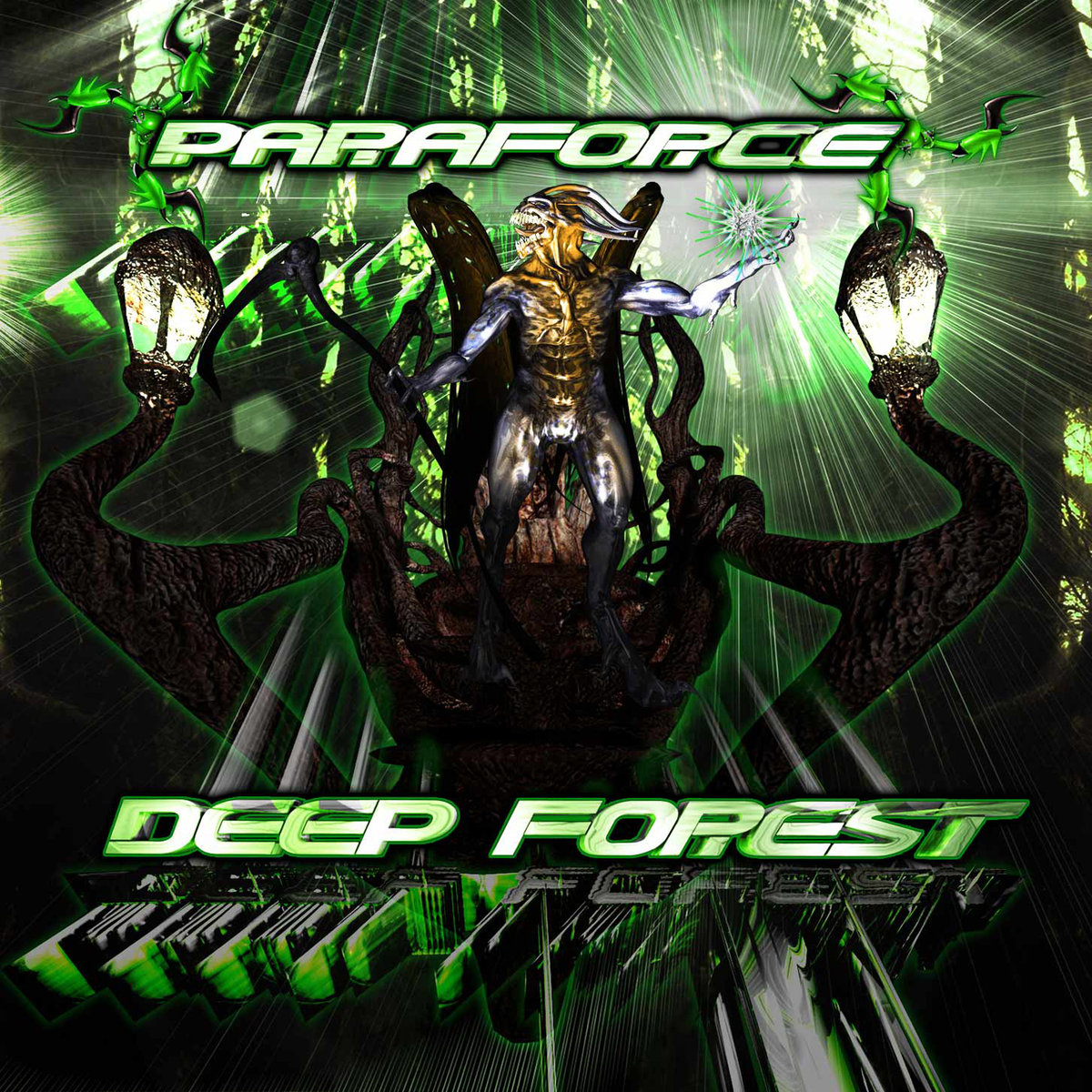 Paraforce - Octo Edge @ 'Deep Forest' album (electronic, goa)
