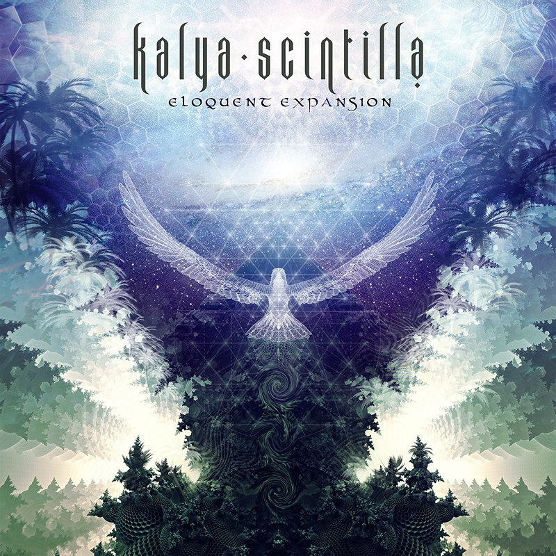 Kalya Scintilla - From Day to Night and Back Again @ 'Eloquent Expansion' album (432hz, electronic)