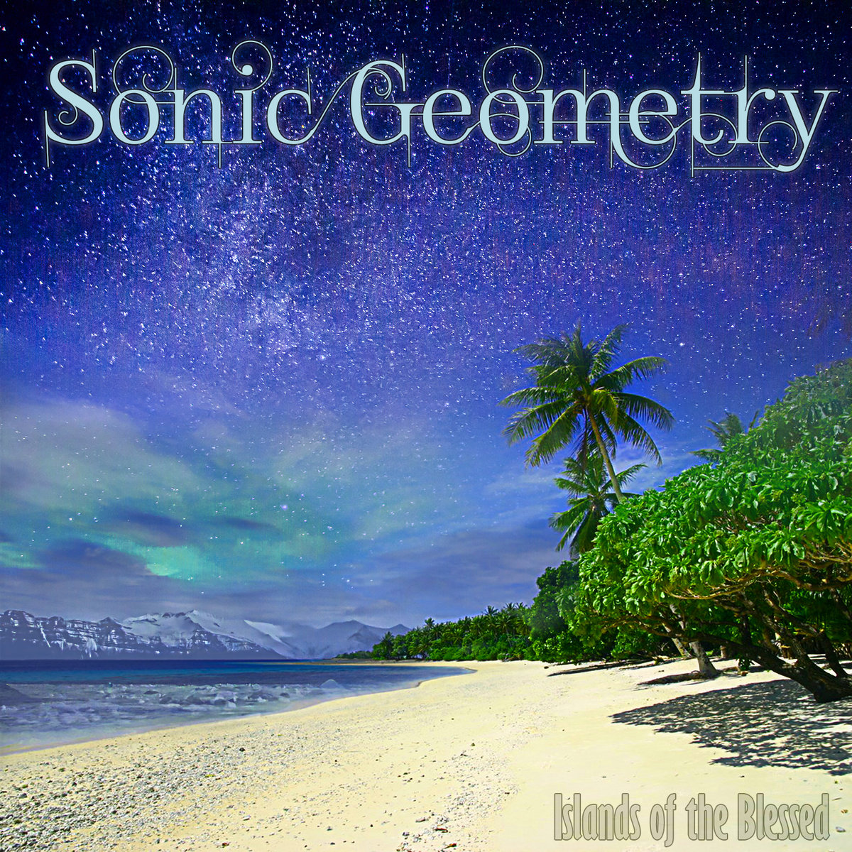 Sonic Geometry - Plush Waves @ 'Islands of the Blessed' album (bass, electronic)