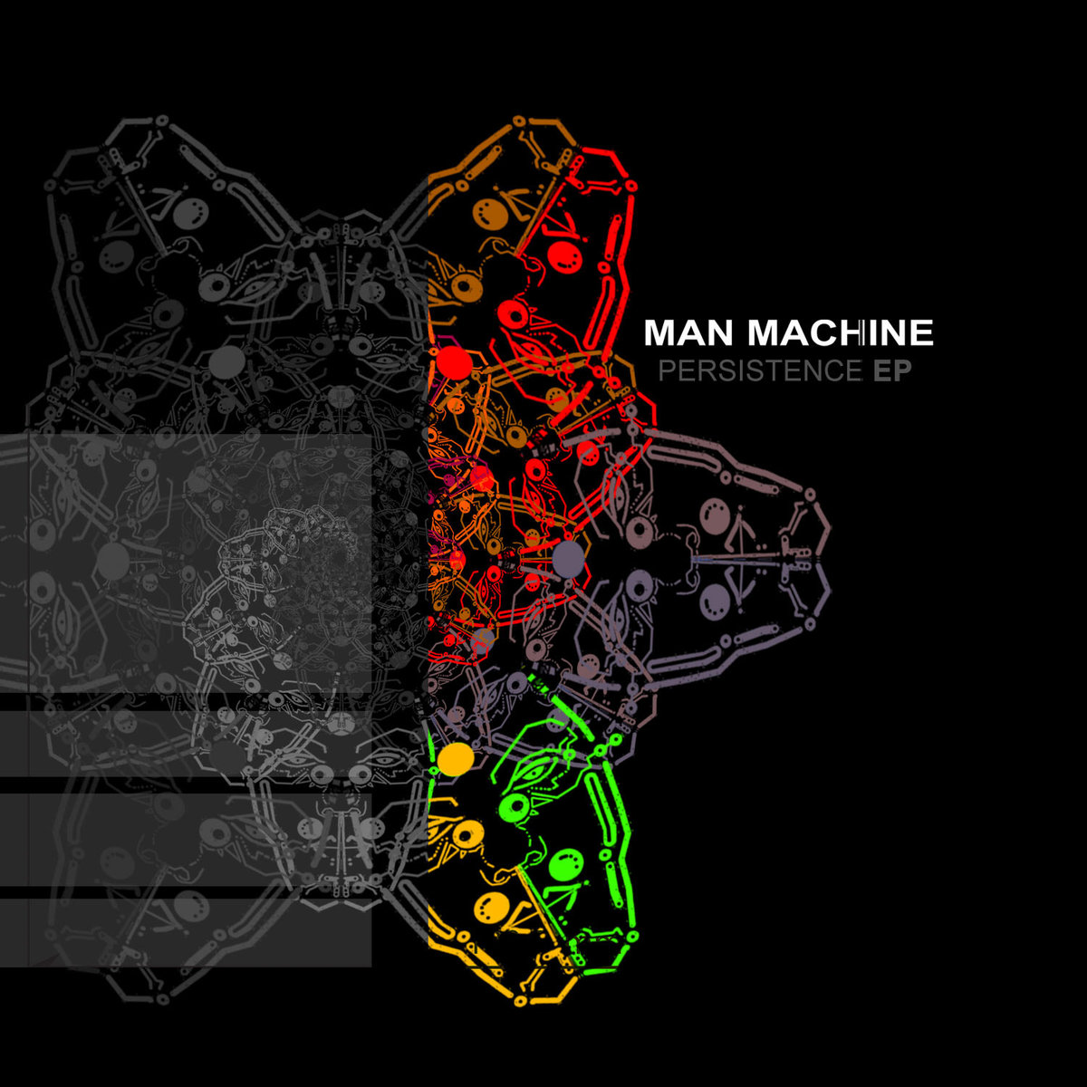 Man Machine - Through the Matter @ 'Persistence' album (electronic, goa)