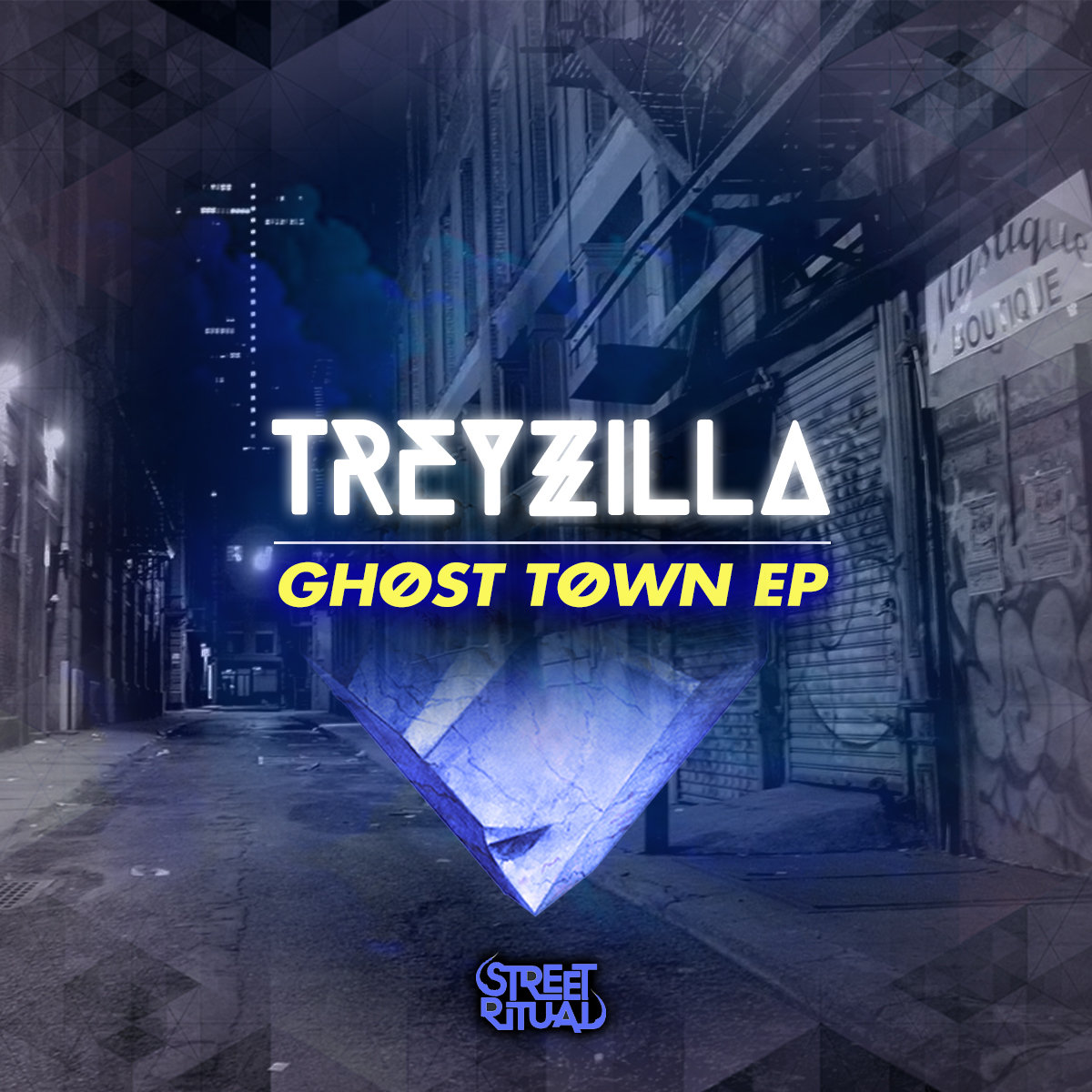 TreyƵilla - The Game (Tiger Fresh Remix) @ 'Ghøst Tøwn' album (bass, electronic)