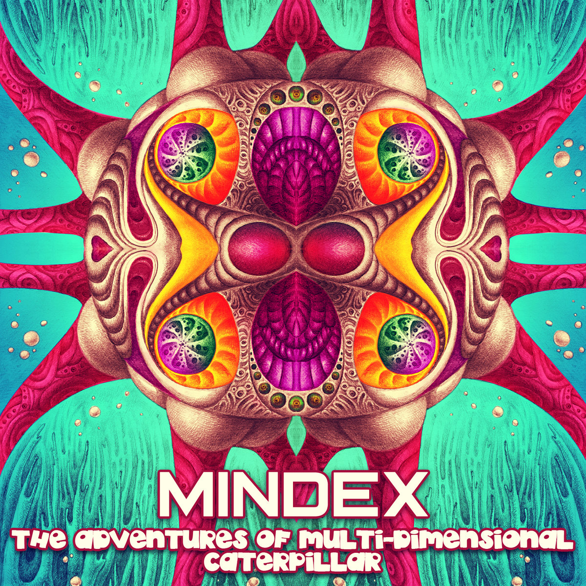 Mindex - Electroshock @ 'The Adventures of Multi-Dimensional Caterpillar' album (drum & bass, electronic)