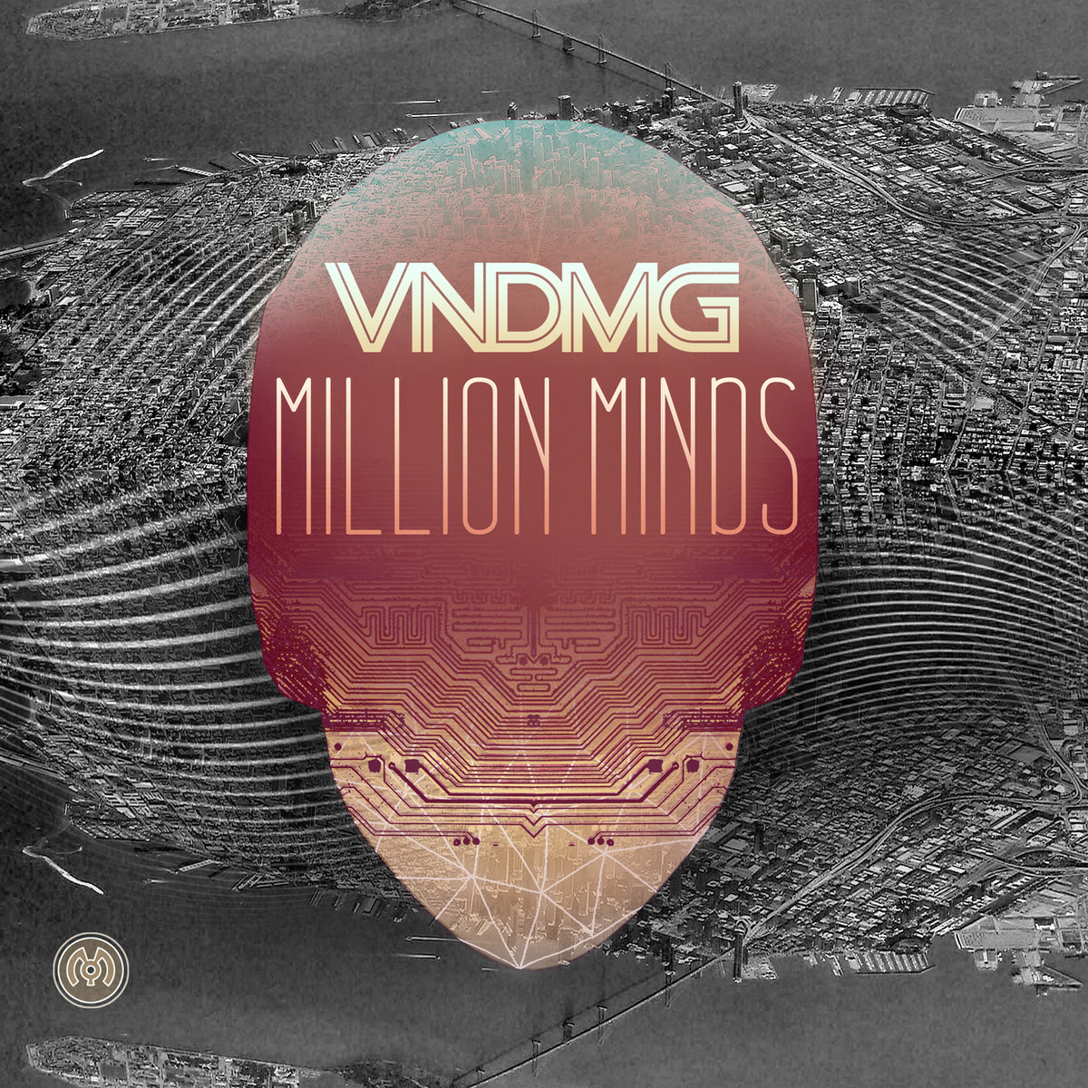 VNDMG feat. Myka 9 - Daggers At Dawn @ 'Million Minds' album (electronic, dubstep)