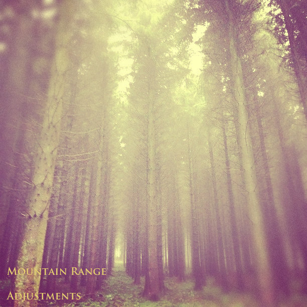 Mountain Range - A Silence Of Three Parts @ 'Adjustments EP' album (alternative, electronic)