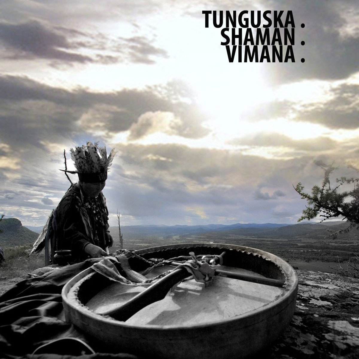 Ellipsis - Tunguska.Shaman.Vimana. (artwork)