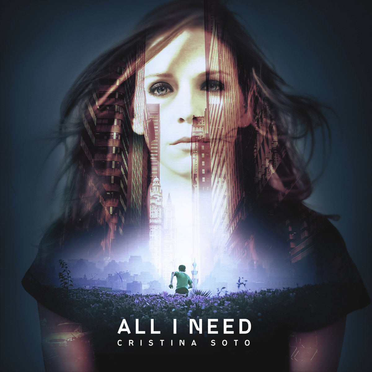 Cristina Soto & 9th Leap - Open Up @ 'All I Need' album (Austin)