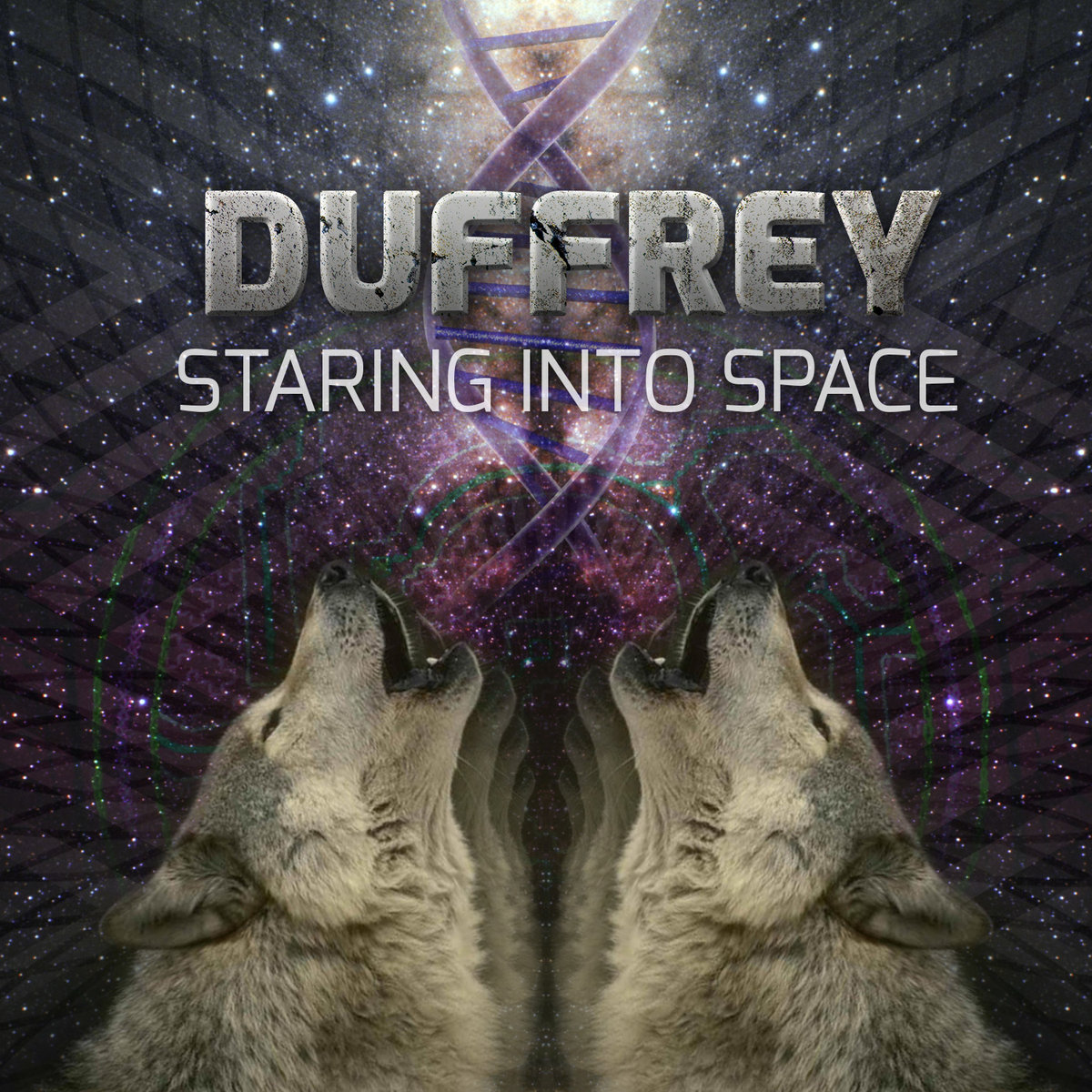 Duffrey - Biognome @ 'Staring Into Space' album (bass, breaks)