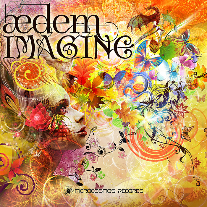 Aedem feat. Aurora WindDancer - Imagine @ 'Imagine' album (ambient, chill-out)