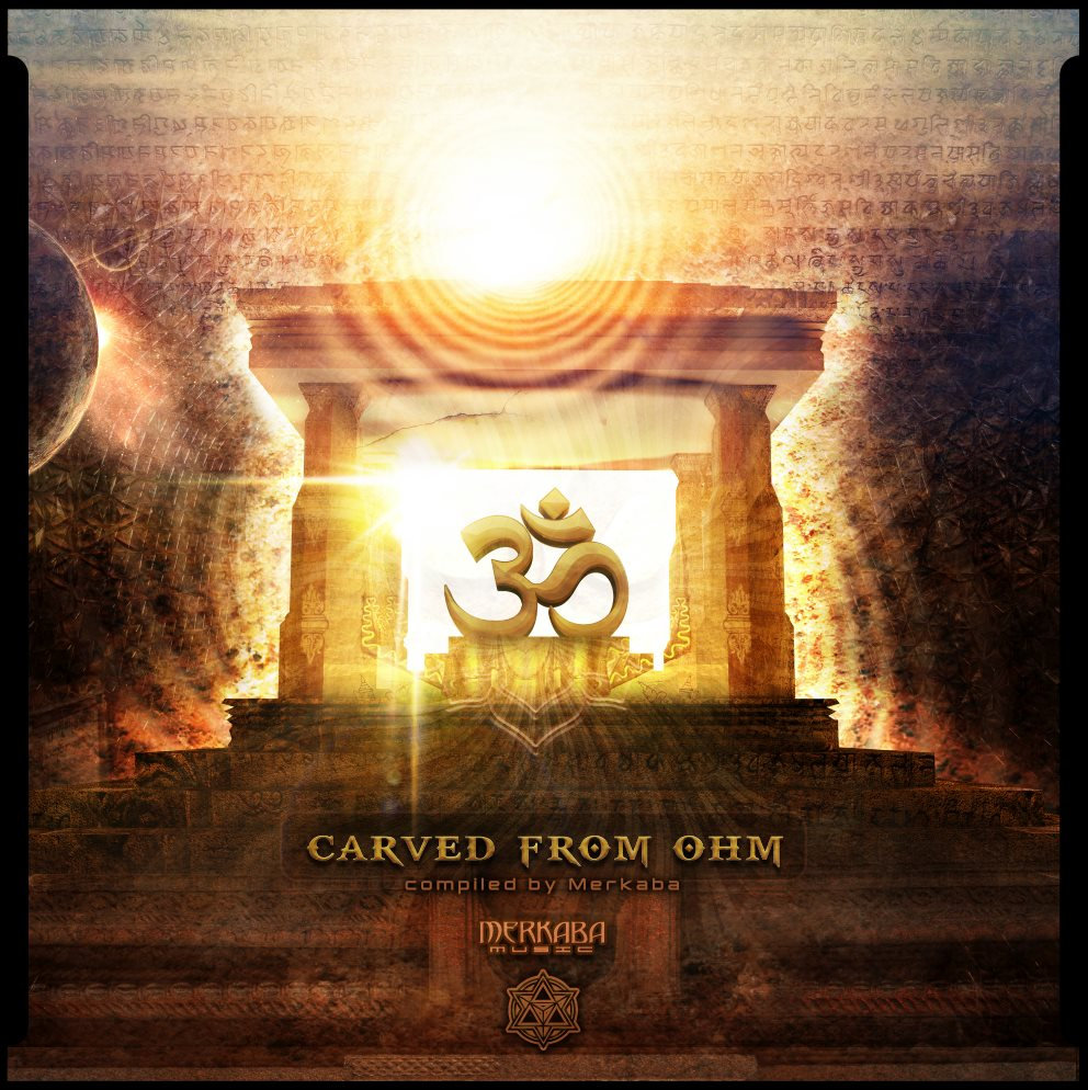 Ark-e-tech, Mecca, & Bushmech - Ancient Architect @ 'Various Artists - Carved From Ohm' album (electronic, progressive trance)