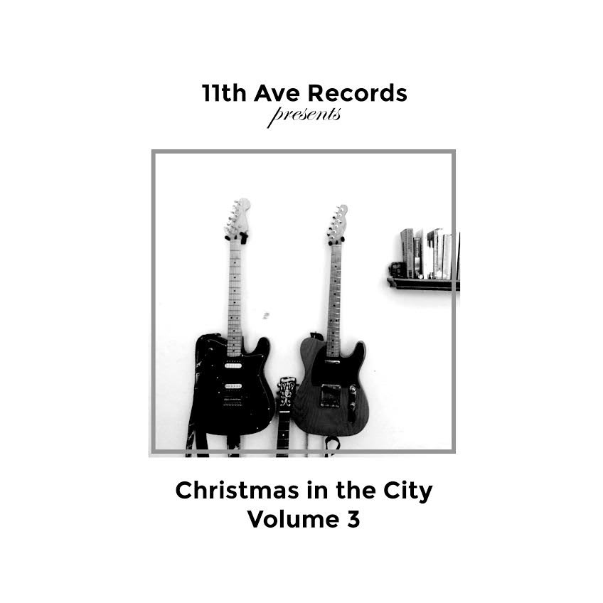 Wesley Woo and Mercedes Gilbert - Christmas TV (Slow Club) @ 'Christmas in the City Vol. 3' album (11th ave records, 11thaverecords 11th avenue)