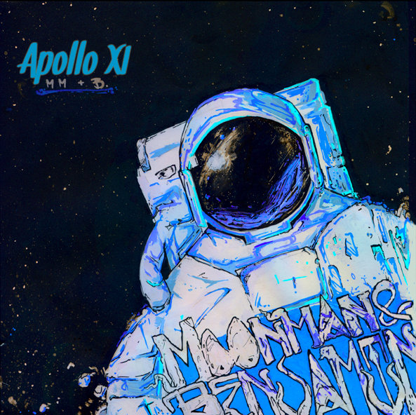 Moon Man & Benjamin feat. Vengance - Blowin Smoke @ 'Apollo XI' album (bass, electronic)