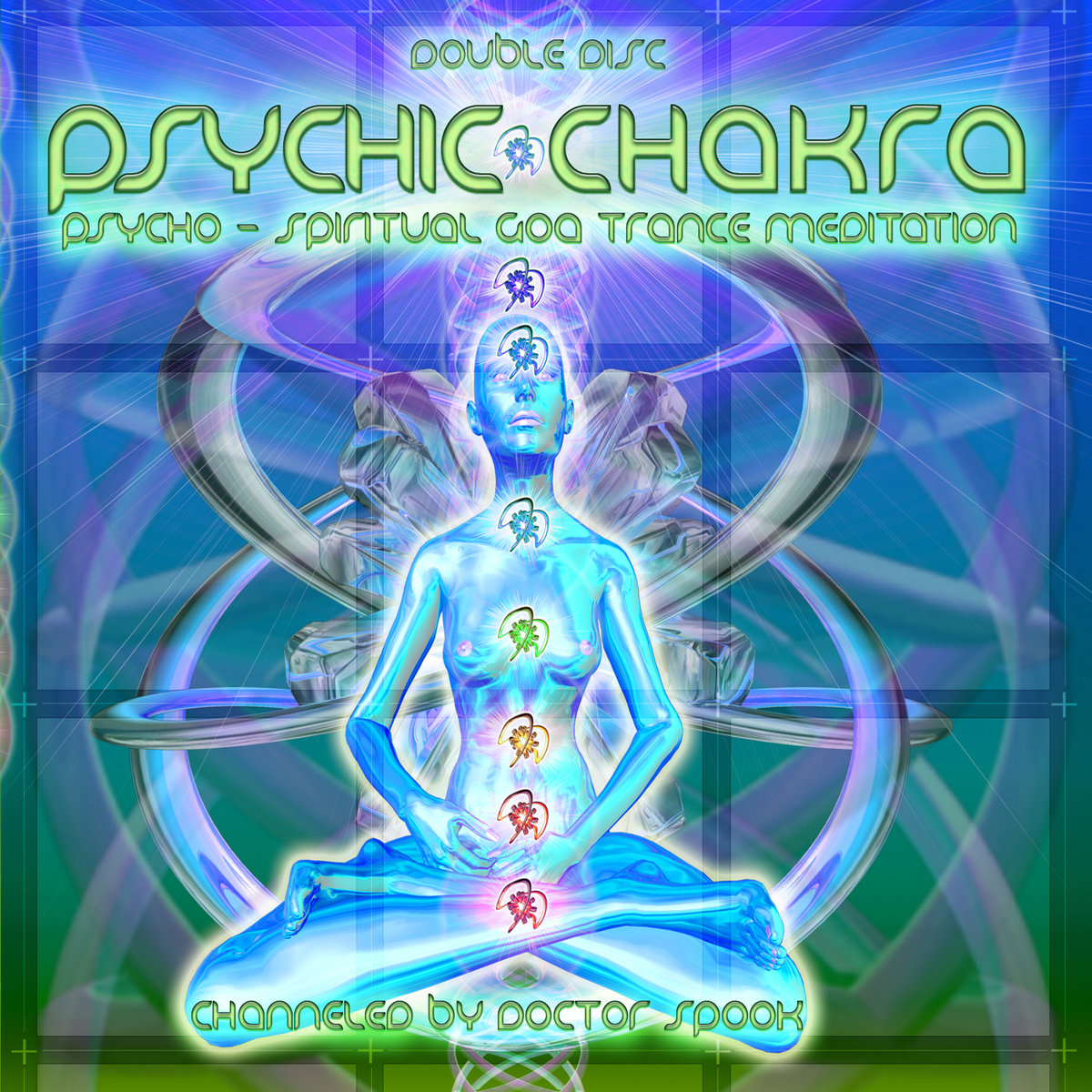 Chain Reaction, Black & White, Loud - DMT Server (Loud Remix) @ 'Various Artists - Psychic Chakra (Channeled by Dr. Spook)' album (electronic, psychic chakra)