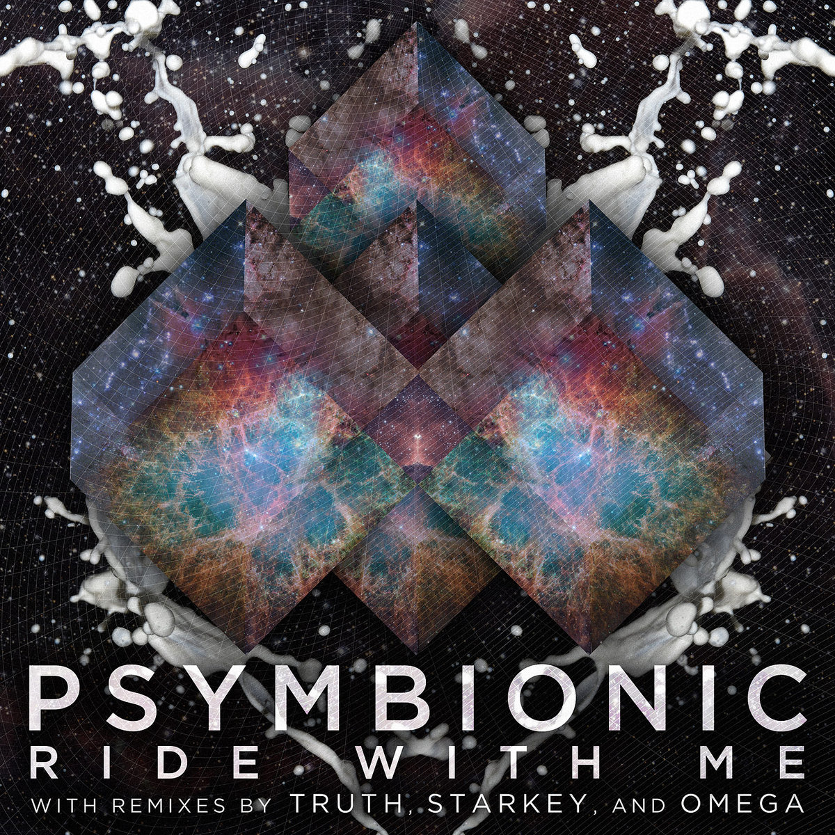 Psymbionic - Ride With Me (Starkey Remix) @ 'Ride With Me' album (electronic, dubstep)