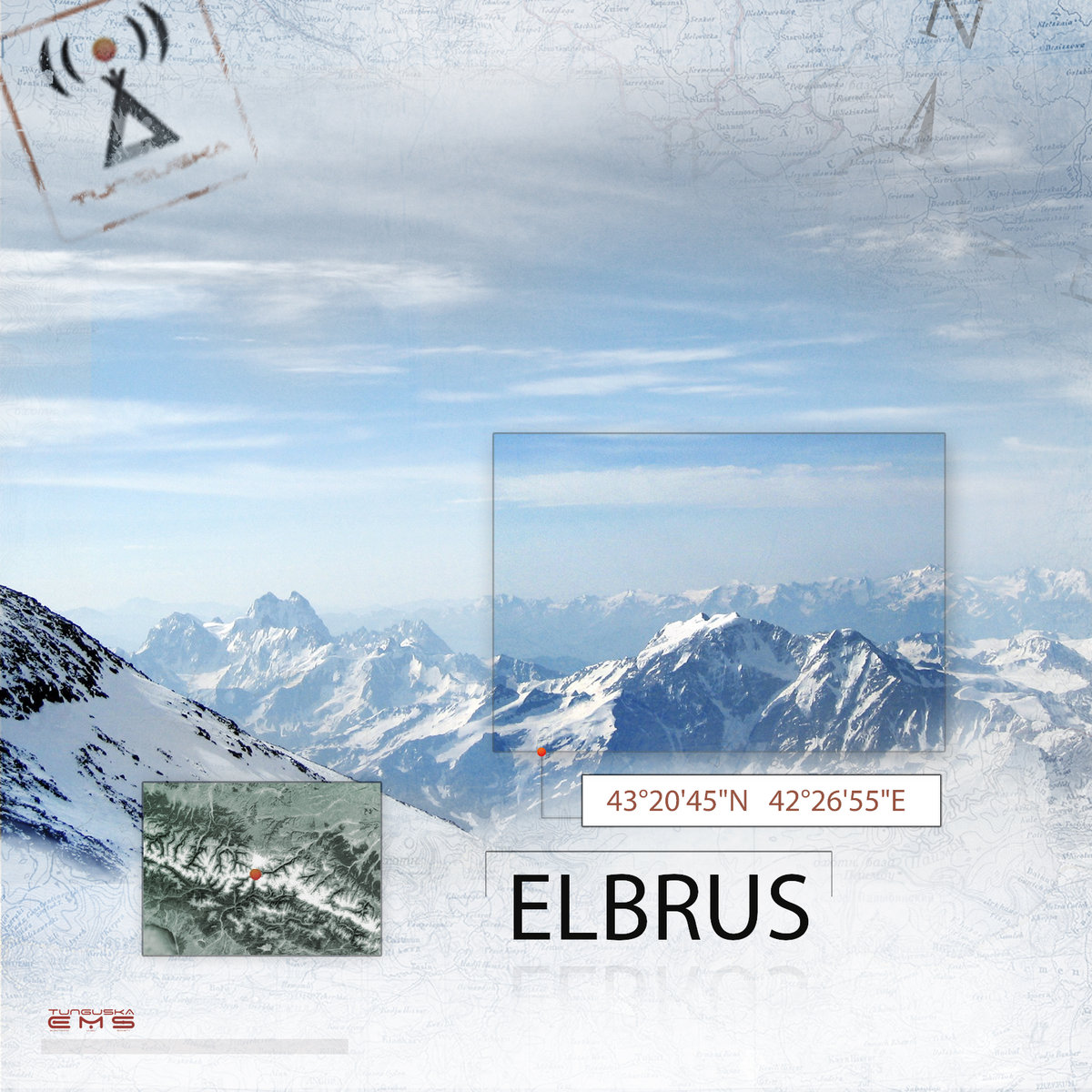 James Shain - The Warmth Before Us @ 'Point - Elbrus' album (electronic, ambient)