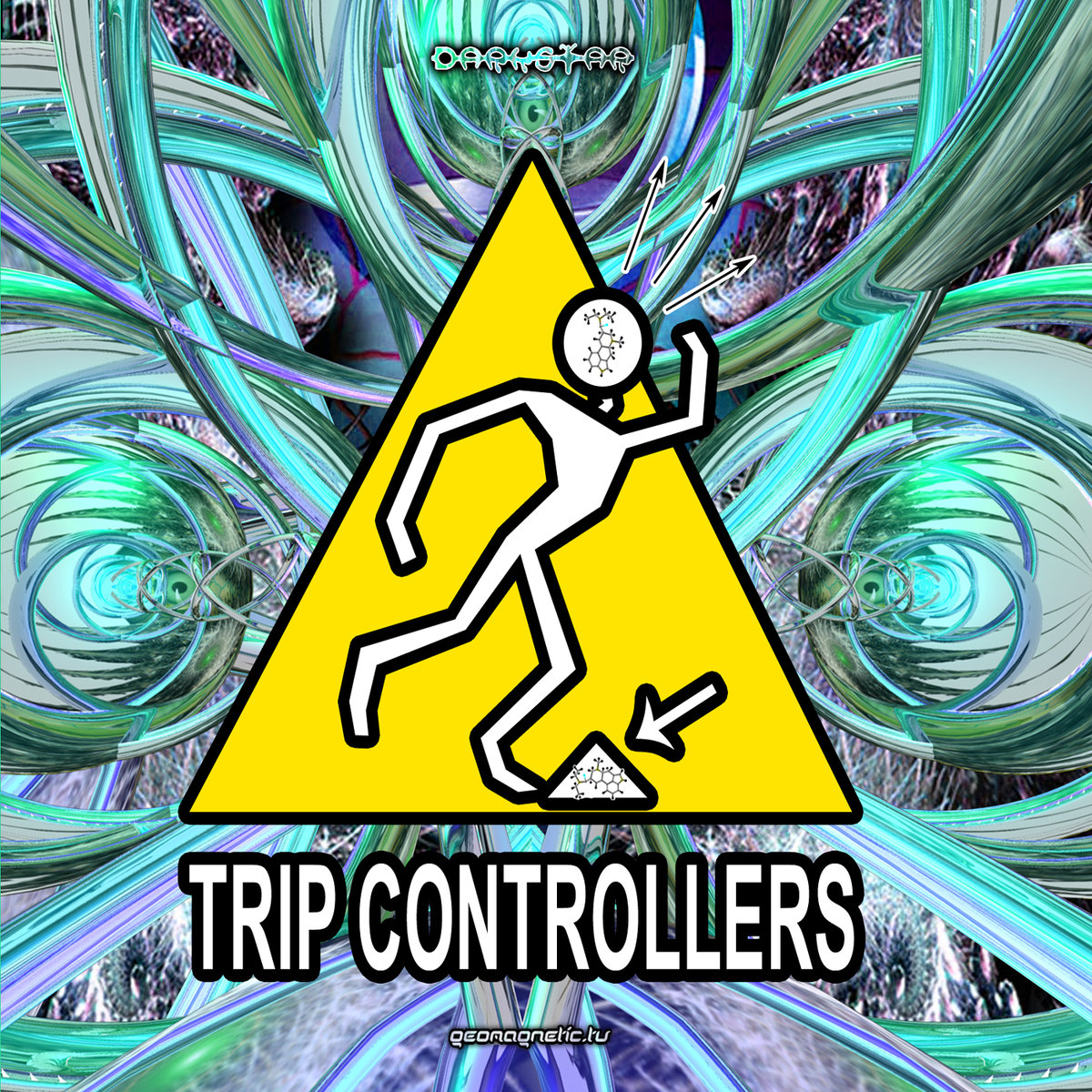 Darkforce - Bad Trip @ 'Various Artists - Trip Controllers (Compiled by Dr. Spook)' album (electronic, goa)