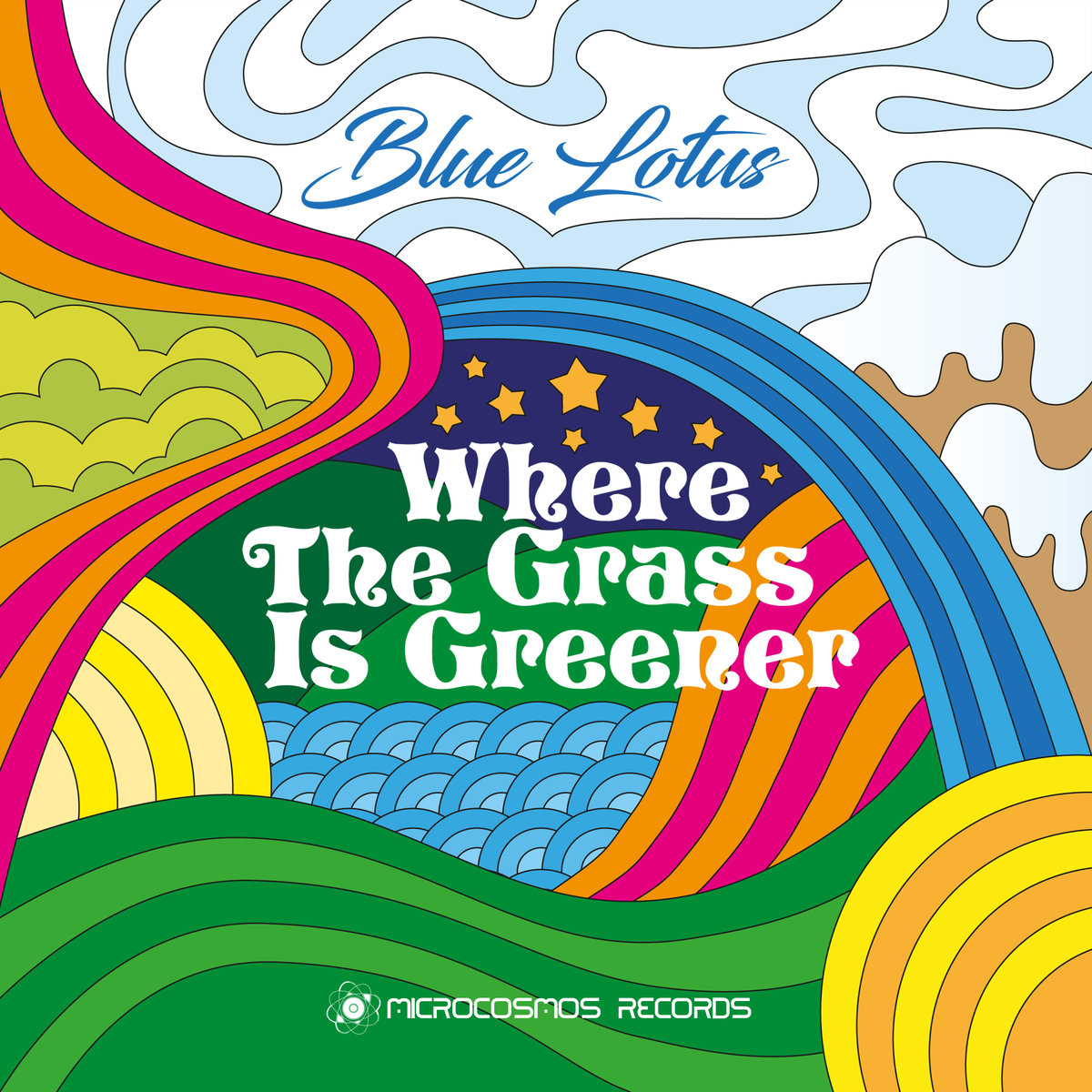 Blue Lotus - Where The Grass Is Greener (artwork)