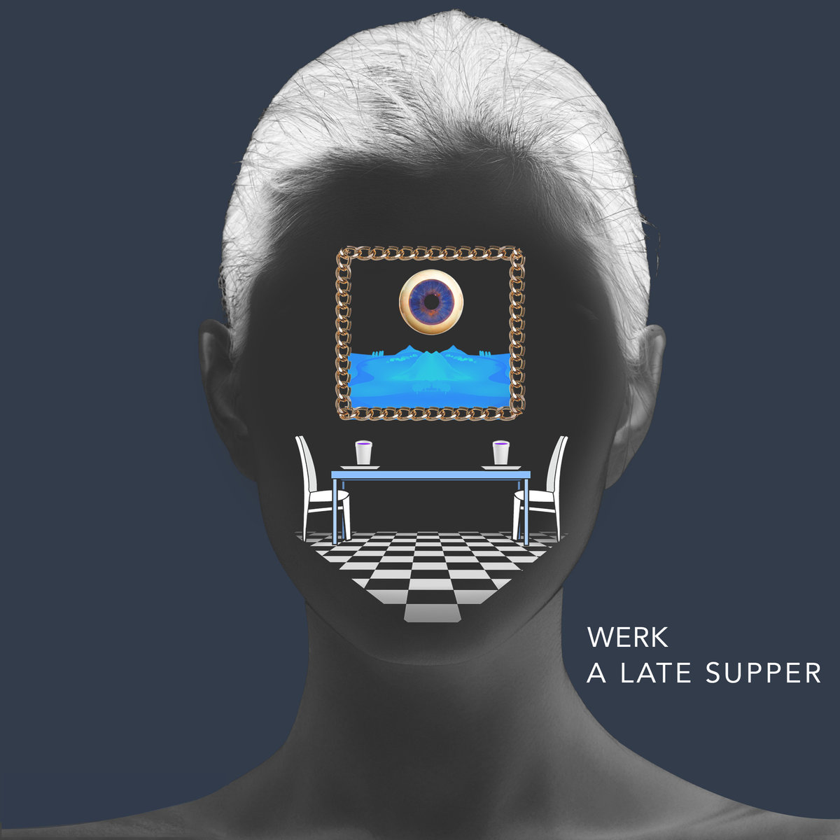 WERK - Throw Up Your P's And Q's @ 'A Late Supper' album (electronic, dubstep)